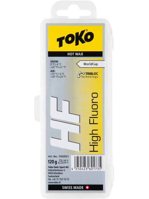 Toko HF Hot Wax - 120g jaune/gris